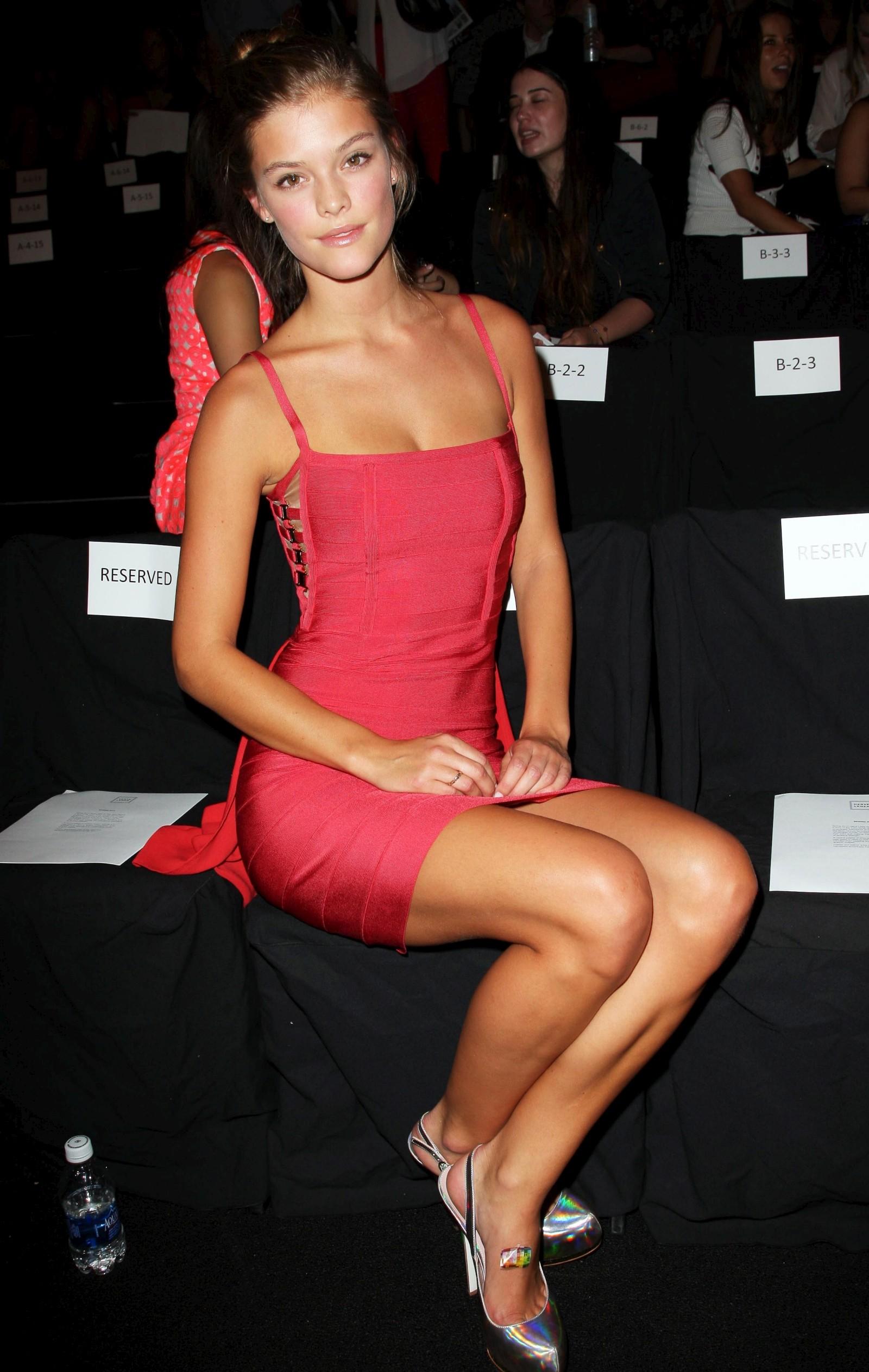 Max Azria Spring 2013 Fashion Show Nina Agdal