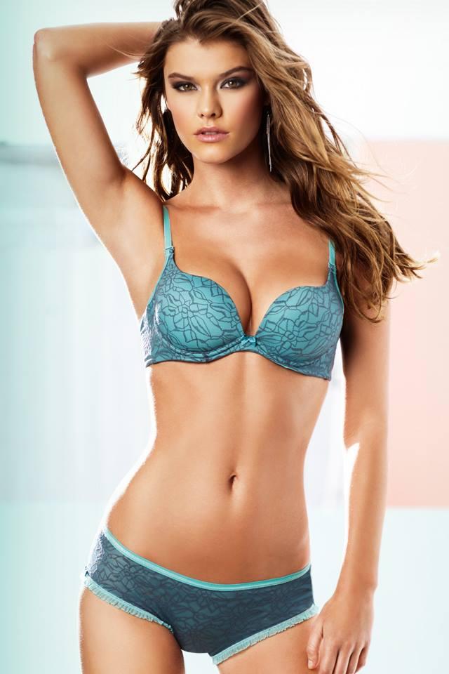 Sorry, Nina agdal lingerie congratulate, very
