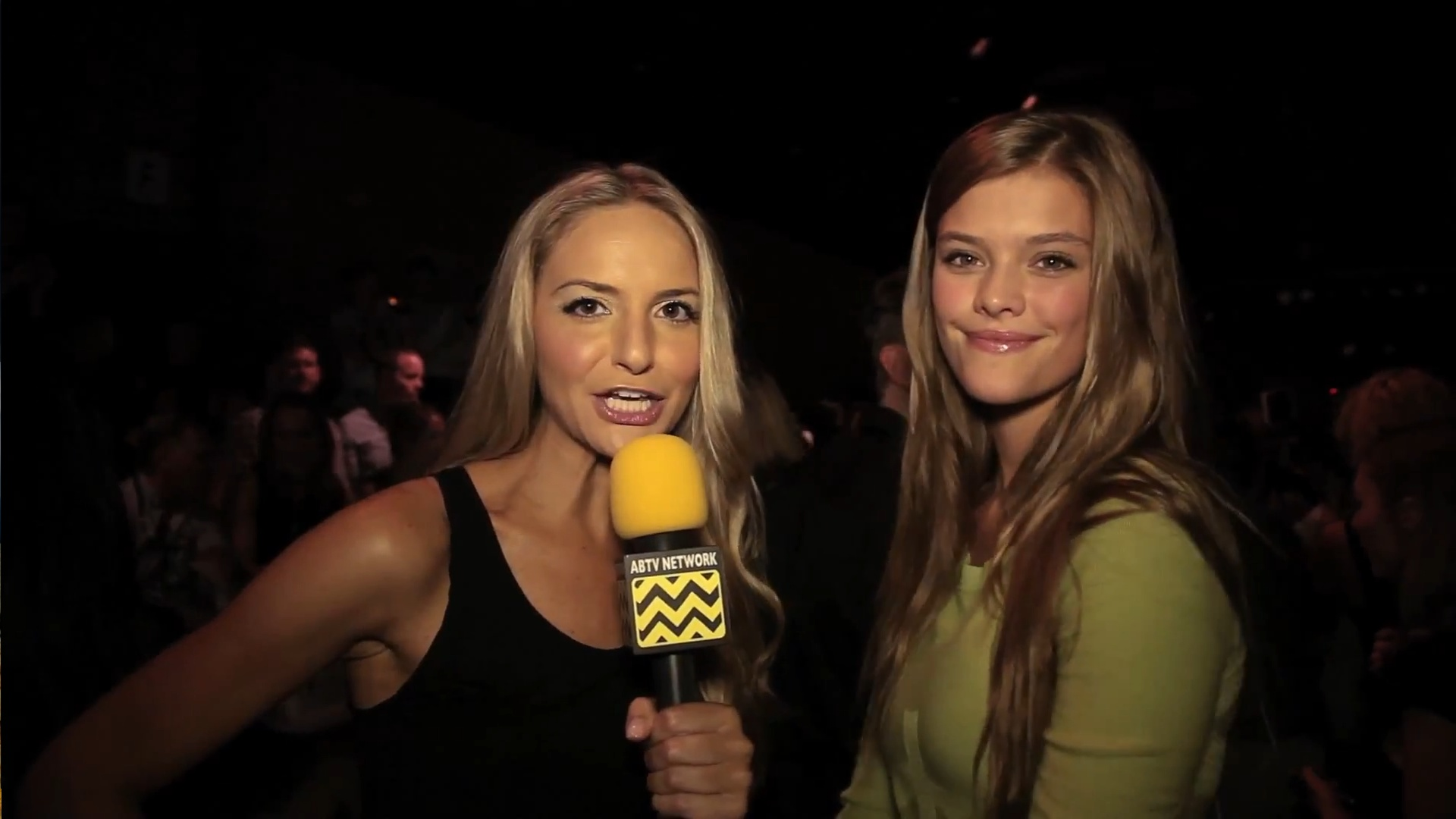 AfterBuzz TV Interviews Nina Agdal @ New York Fashion Week - September 8th 2012