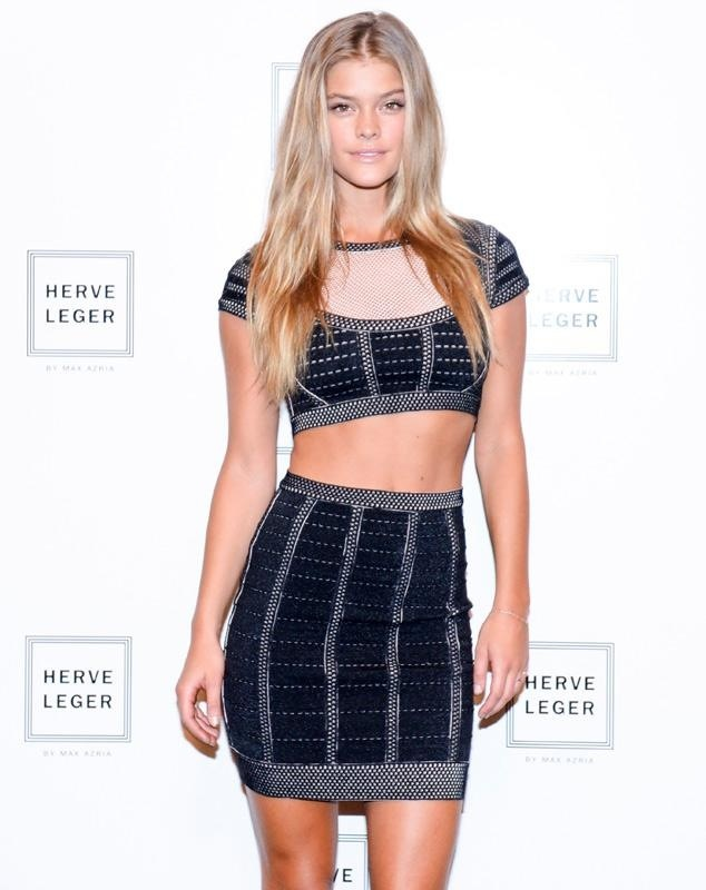 nina-agdal-herve-leger-by-max-azria-fashion-show-backstage-september-6-2014-11
