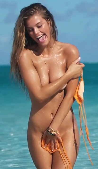 Nina Agdal - SI Swimsuit 2014 Cook Islands Outtakes
